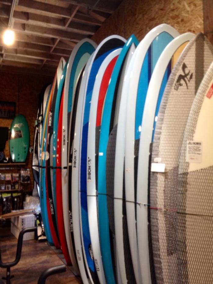 Hobie's surf shop