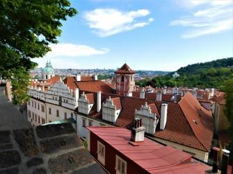 Prague Castle Overlook