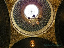 Ceiling of the Spanish Synagogue