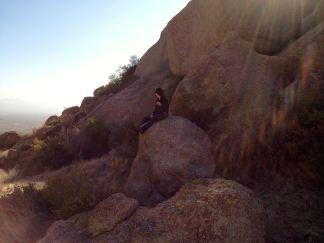 im on a rock