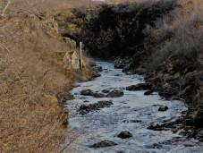 way up river