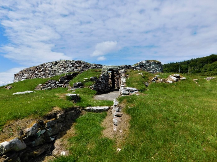 Carn Liath Broch Travel Scout