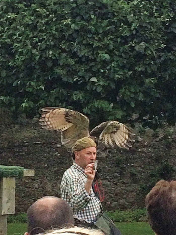 Andy Hughes at Dunrobin Castle