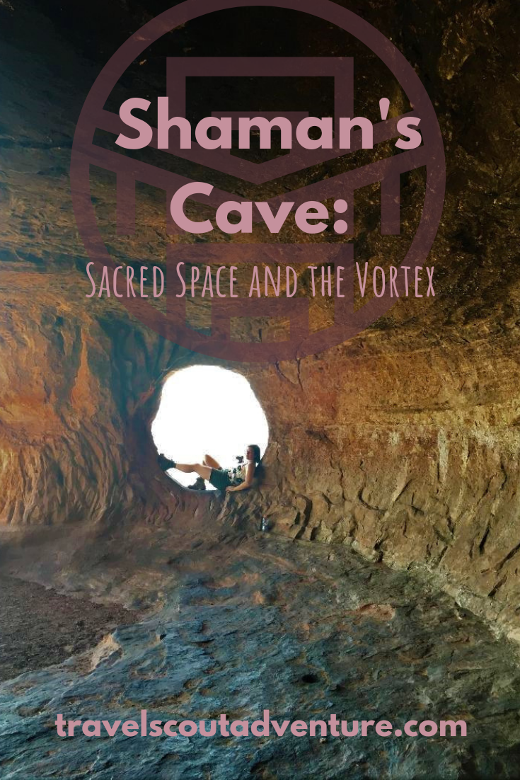 View from Shaman's Cave (Sedona, Arizona) Kate Swavely @ Travel Scout Adventure
